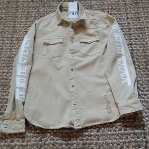 Zara shirt/jacket